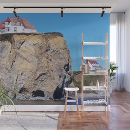 Living at the End of the World Wall Mural