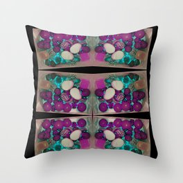 neon candy! Throw Pillow