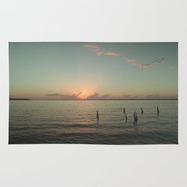 Sunrise In Bacalar Rug