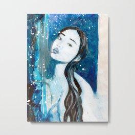 Blue Swoon Metal Print
