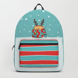 Christmas Cat Backpack