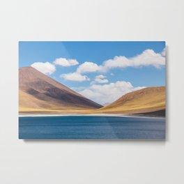 Laguna Miscanti, Atacama, Chile by Caroline Zhao Metal Print