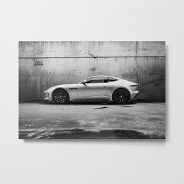 F-type Metal Print
