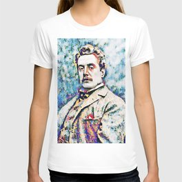 Giacomo Puccini (1858 – 1924) digitized photography T-shirt