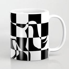 Chessboard Unicorn Coffee Mug