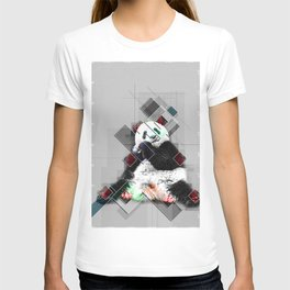 Cute colorful collage Panda T-shirt