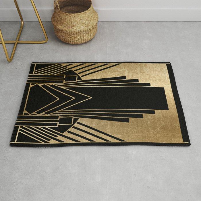 Art Deco Design Rug By Peggieprints