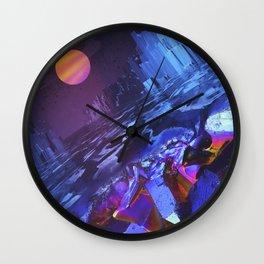 Mineralia Wall Clock