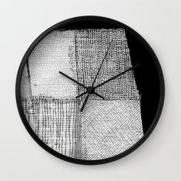 White & Grey Wall Clock