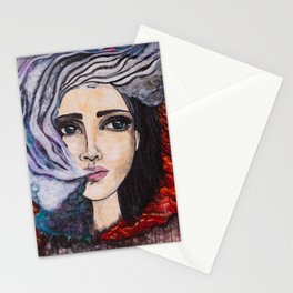 Exhale the Galaxy Stationery Cards