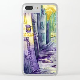 Alleyway Clear iPhone Case