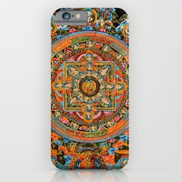 Mandala Buddhist 12 iPhone Case