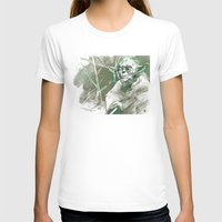 yoda T-shirts featuring Yoda by Luis Dourado