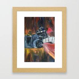 Lights, Camera, Action Framed Art Print
