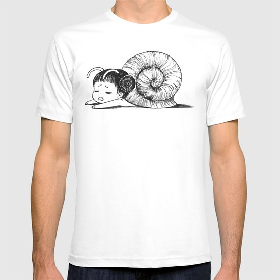 Snail girl T-shirt