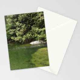 Waterhole in the Forest Stationery Cards
