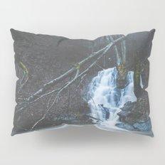 Emerging waterfall after the flood Pillow Sham