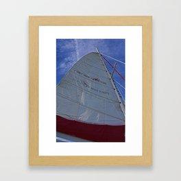 A Cayman Sail I Framed Art Print