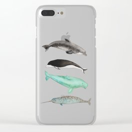 Too cute to be true Clear iPhone Case
