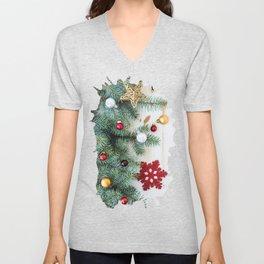 Christmas Decoration 01 Unisex V-Neck