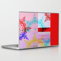 glitch Laptop & iPad Skins featuring Glitch  by Laina Catherine