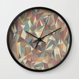 Tri-wangles  Wall Clock