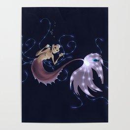 Angler Mermaid Poster
