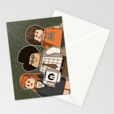 The Mini Crowd Stationery Cards