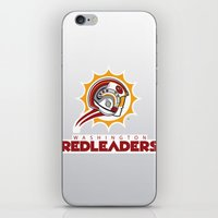 nfl iPhone & iPod Skins featuring Washington Red Leaders - NFL by Steven Klock