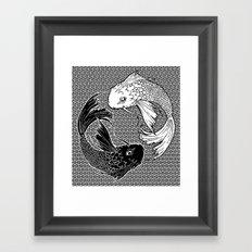 Yin &Yang Framed Art Print