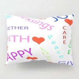 """""""Inspirations"""" Pillow Sham"""