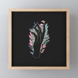 Blooming Day - Illustration Framed Mini Art Print