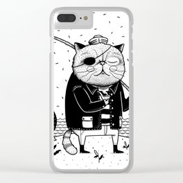 Fishercat Clear iPhone Case