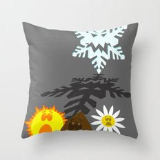 Winter is Coming... 2 Throw Pillow