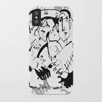 drunk iPhone & iPod Cases featuring Drunk by 5wingerone