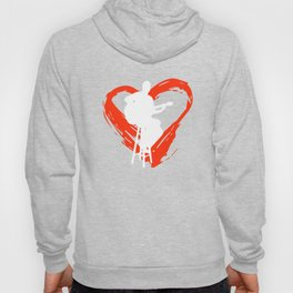 A Heart For Guitar Hoody
