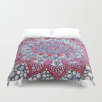 romance Duvet Covers featuring Romance by Fiona Fieldhouse