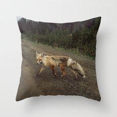 Fox Trot Throw Pillow