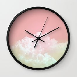 Dreamy Watermelon Sky Wall Clock