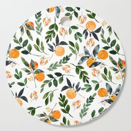 Orange Grove Cutting Board