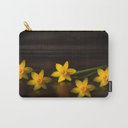 Golden daffodils quintet Carry-All Pouch