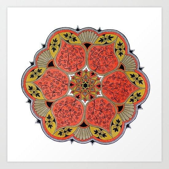 Mandala 04 Art Print