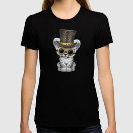 Steampunk Snow Leopard Cub T-shirt