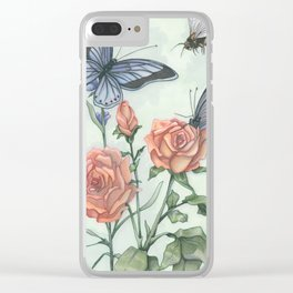 Kathie's Garden Clear iPhone Case