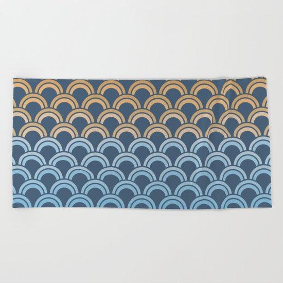 Fish Scale #1 Beach Towel