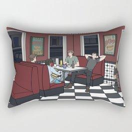 Nino's on a Friday Night Rectangular Pillow