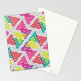 Let's Celebrate The Triangle Stationery Cards