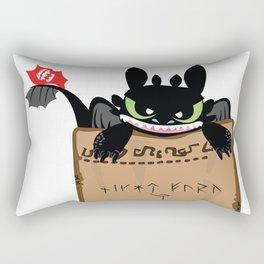 NightFury Rectangular Pillow