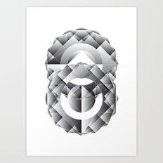 Geometric Perfection Art Print