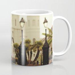 New Orleans Looking Through Jackson Square Coffee Mug